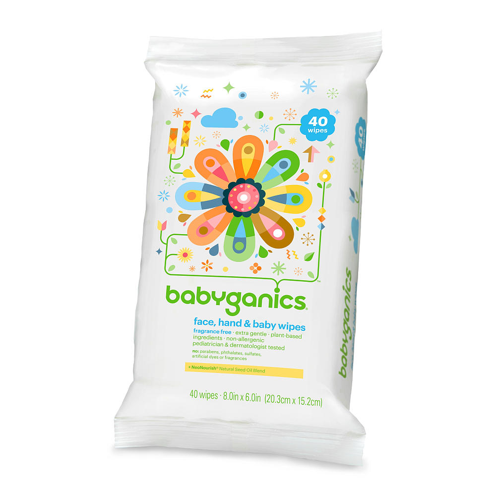 Organic Travel WIpes