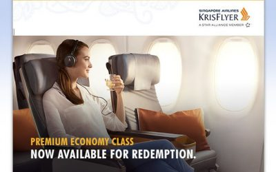 Exciting News! KrisFlyer Miles Can Now Be Redeemed for Singapore Airlines Premium Economy!