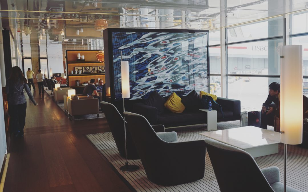 Lounge Review: Cathay Pacific Lounges at Hong Kong | The Wing Business Class vs. The Bridge Business Class