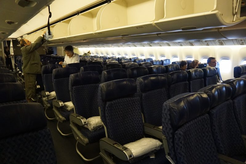 American Airliness 777-200 Main Cabin
