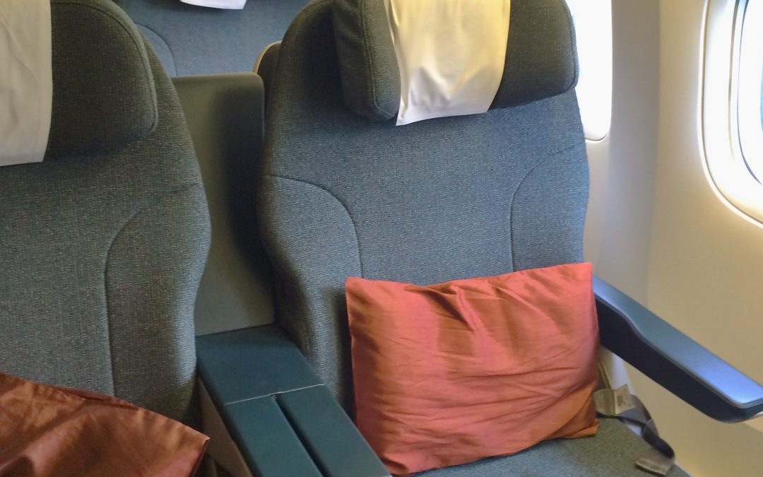 Trip Report: Cathay Pacific 777 Regional Business Class, Hong Kong to Taipei