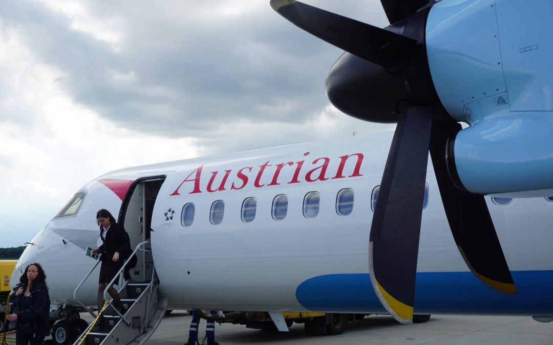 Trip Report: Austrian Airlines Economy Class | Krakow to Vienna & Vienna to Budapest
