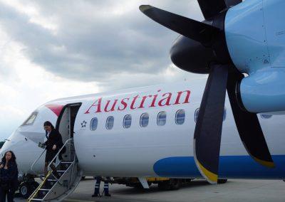 Vienna Airport Tarmac