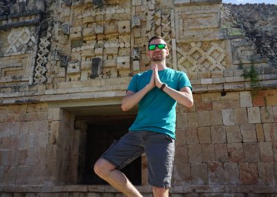 Yoga Yucatan Uxmal - Destination Spotlight: Mérida, Mexico | Part 2 | Exploring Uxmal, Kabah, and Santa Elena