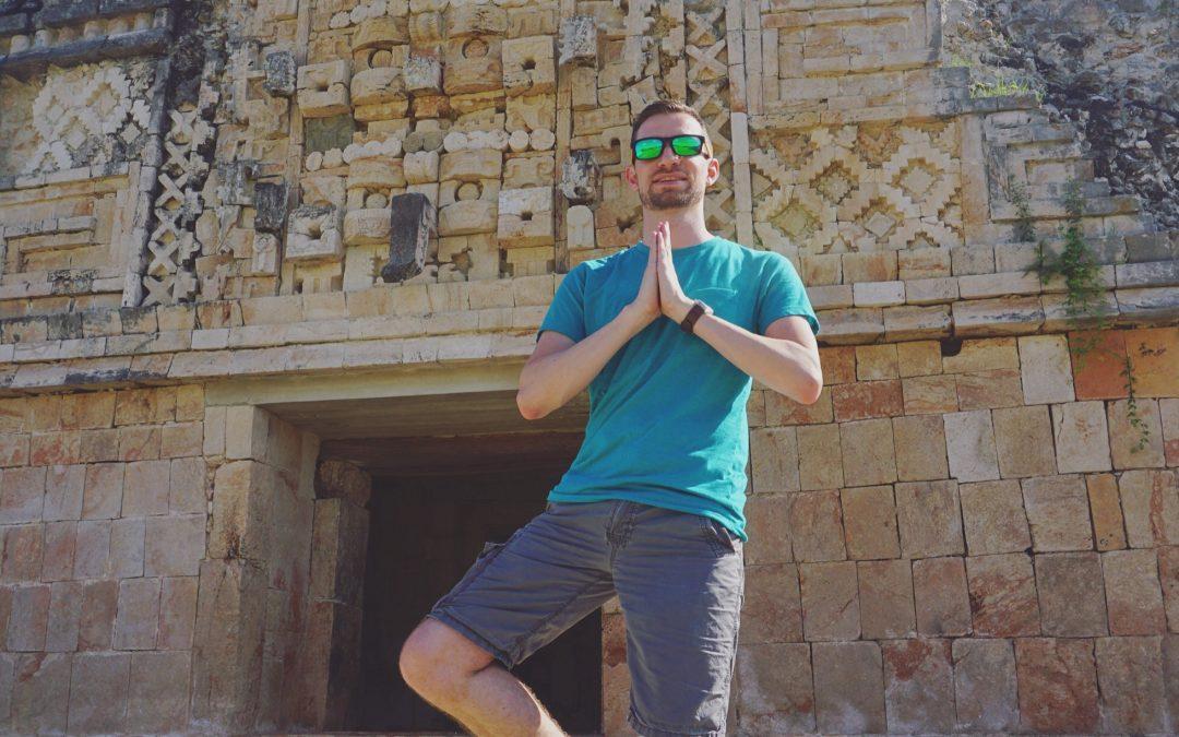 Instagram: Posing at Uxmal