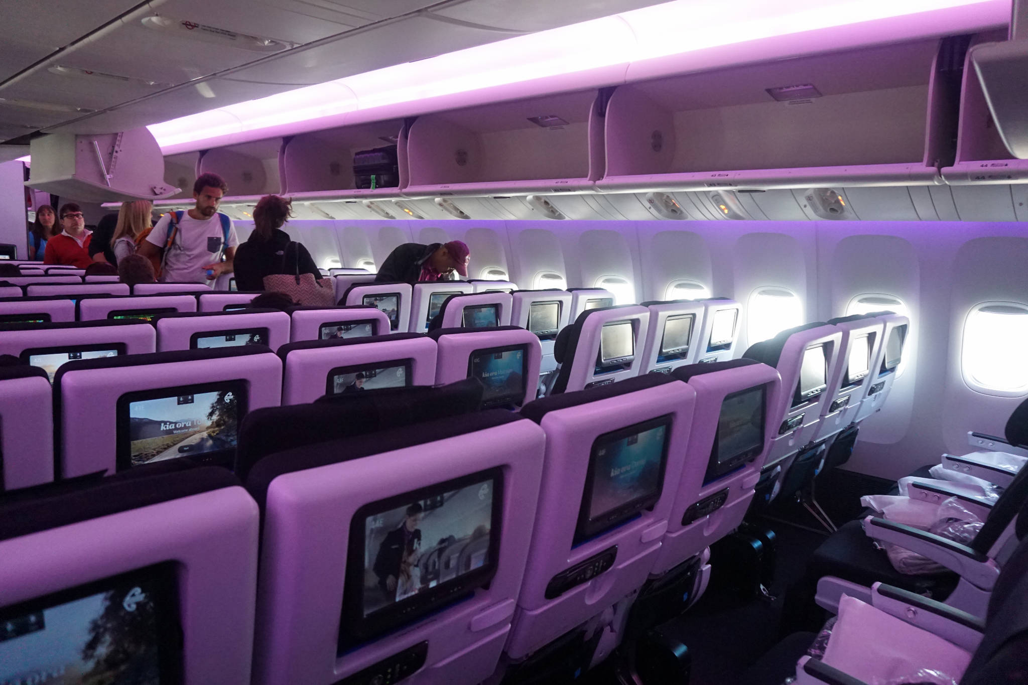 Air New Zealand Economy Class LAX to London LHR Trip