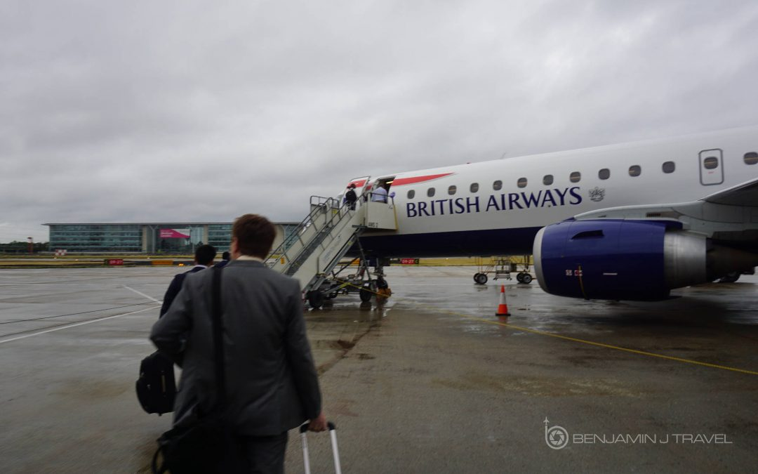 Trip Report: British Airways CityFlyer Economy Class | London City to Frankfurt