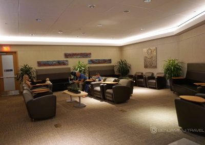 British Airways Lounge at DFW