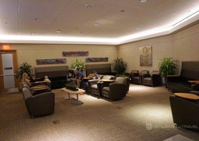 British Airways Lounge at DFW