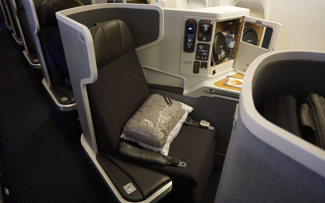 Trip Report: American Airlines 777-300ER Business Class | London to Chicago