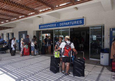 Blu Express Santorini Airport