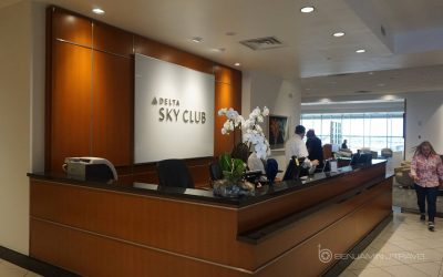 Lounge Review: Delta Sky Club DFW