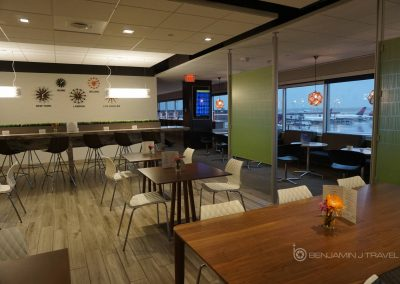 Lounge Review Escape Lounge MSP Airport