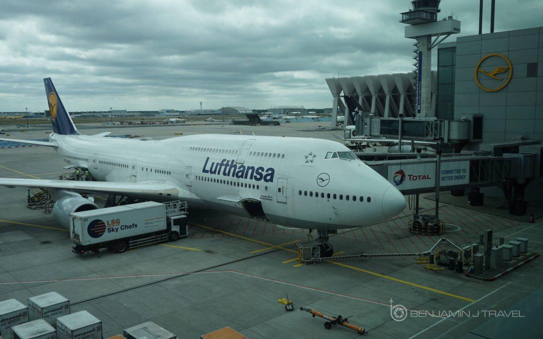 Lufthansa 747-8 Business Class