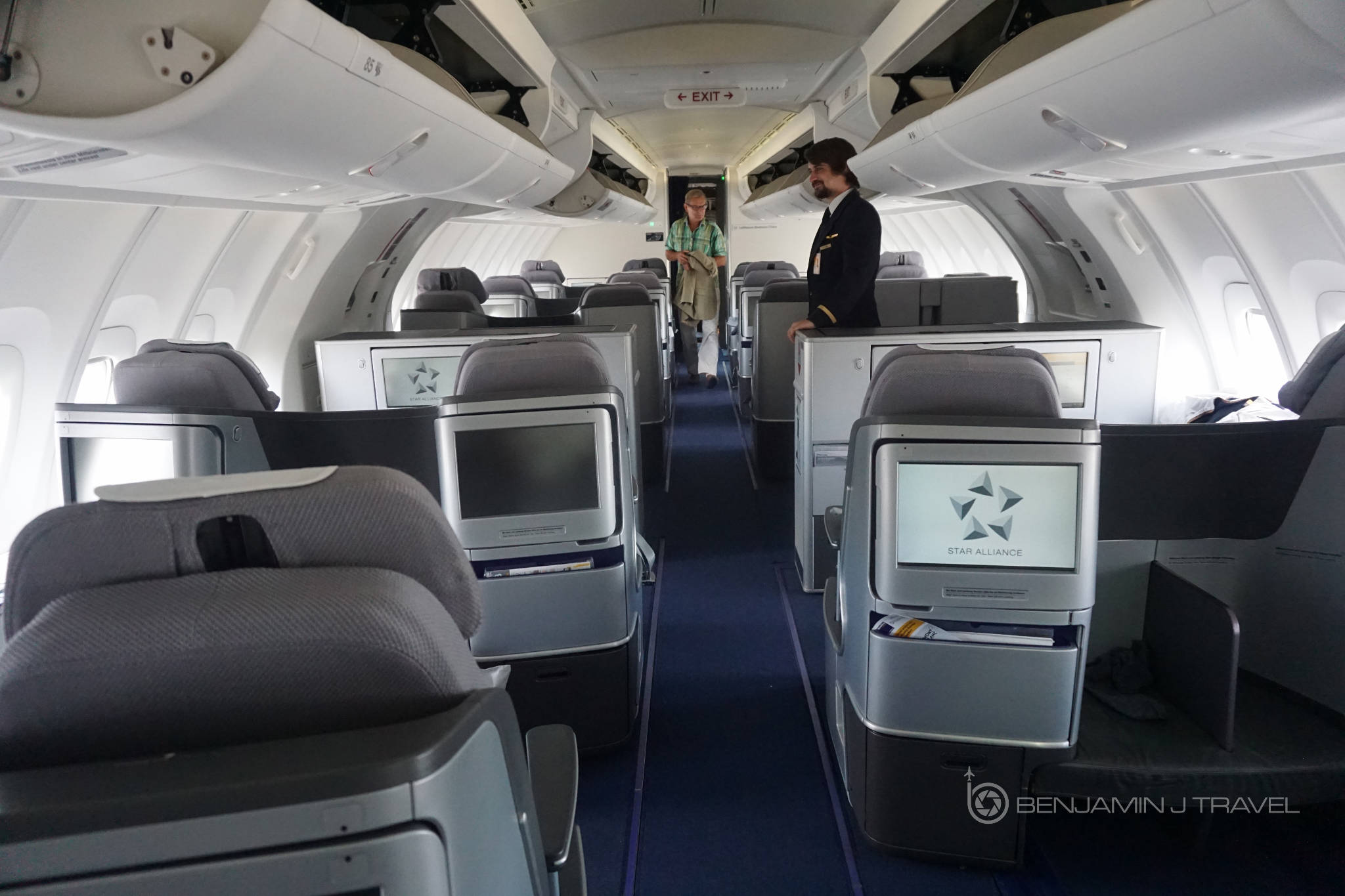 trip report lufthansa 747 8 business class frankfurt to washington. Black Bedroom Furniture Sets. Home Design Ideas