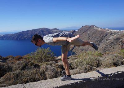 Santorini Travel Oia Fira Hike