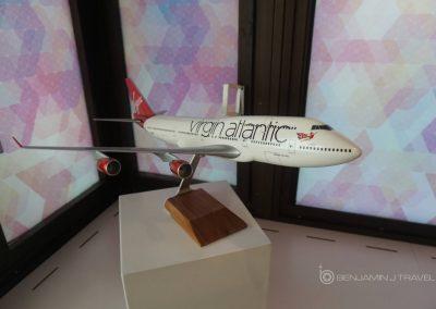 Virgin Atlantic Revivals Lounge 747 Queen of The Skies