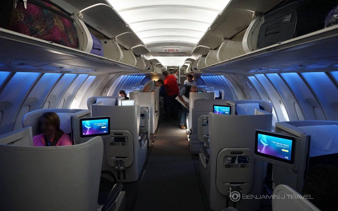 Trip Report: Upper Deck Club World on British Airways' 747   DFW to London