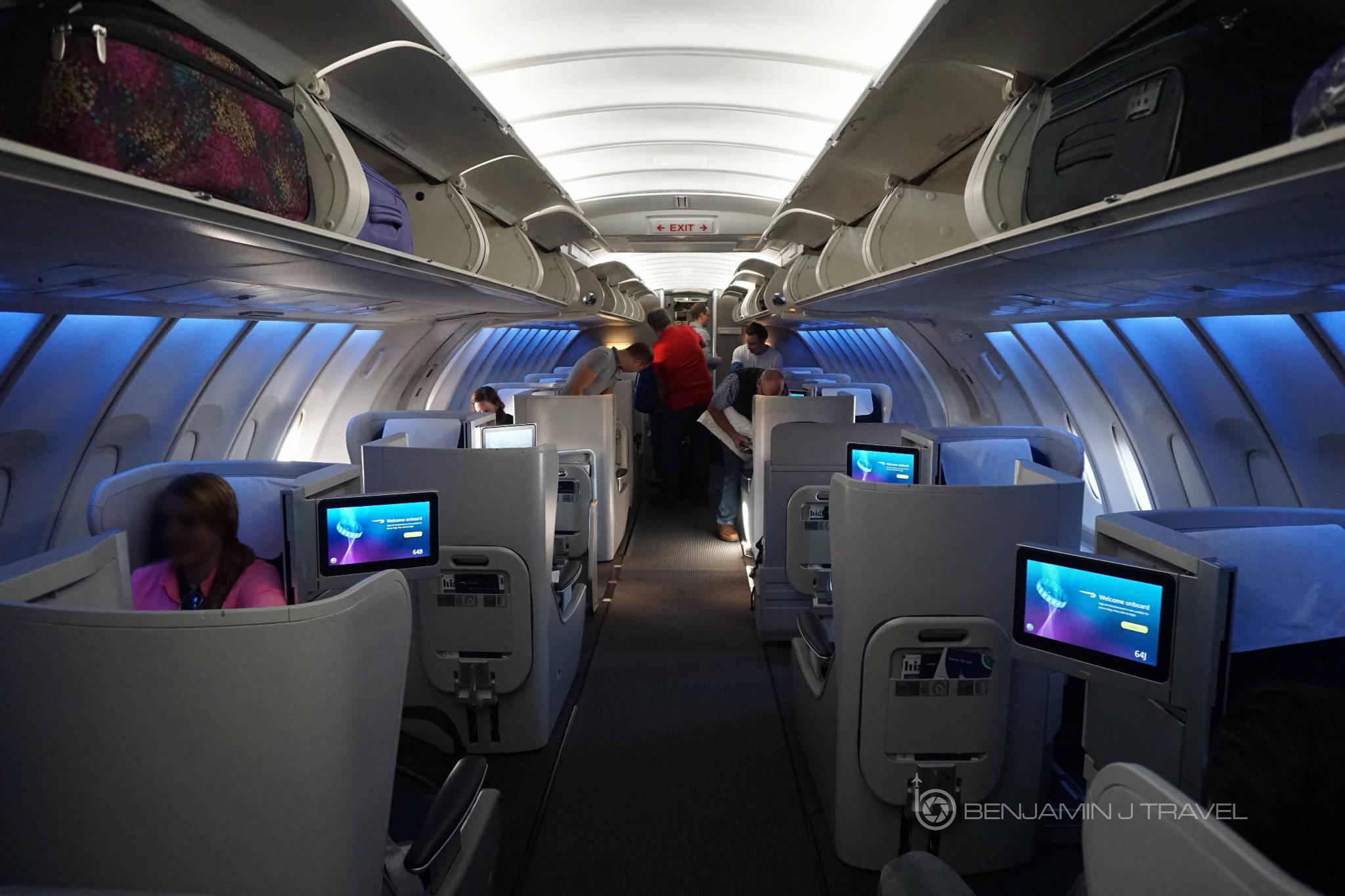 Trip Report Upper Deck Club World On British Airways 747