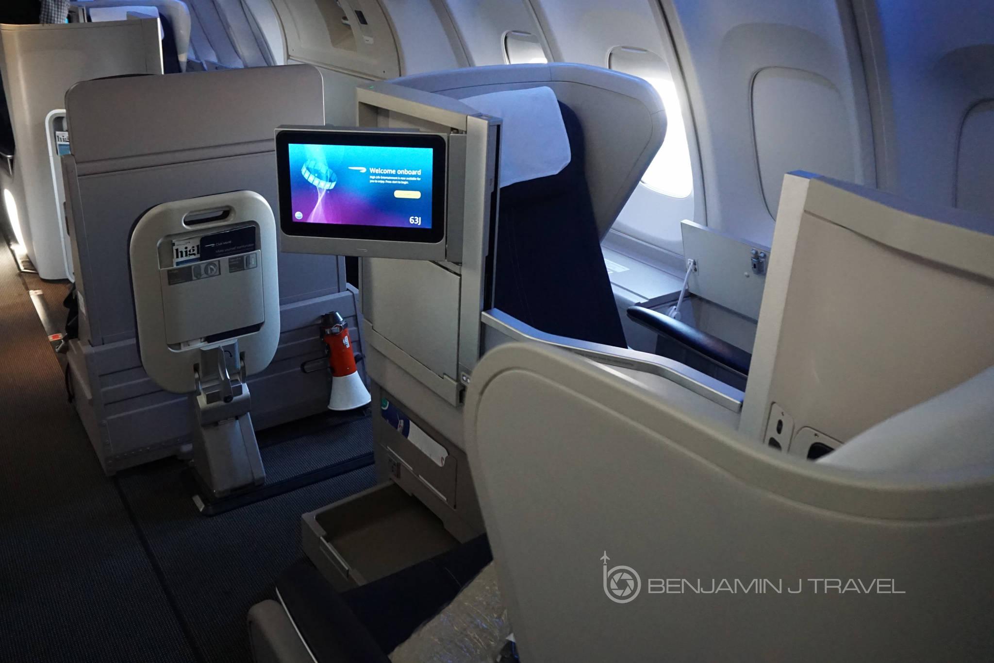 Trip Report: Upper Deck Club World on British Airways' 747