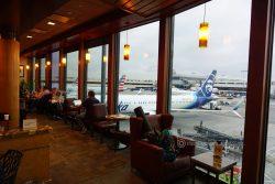 Lounge Review: Alaska Board Room LAX