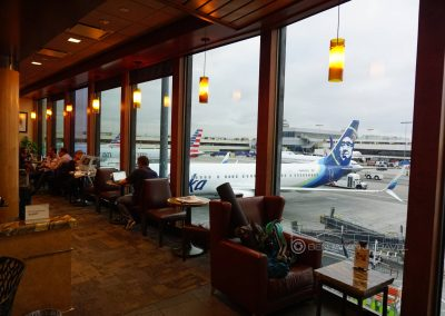 Lounge Review: Alaska Board Room LAX