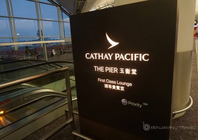 Lounge Review: Cathay Pacific | The Pier First Class Lounge | Hong Kong