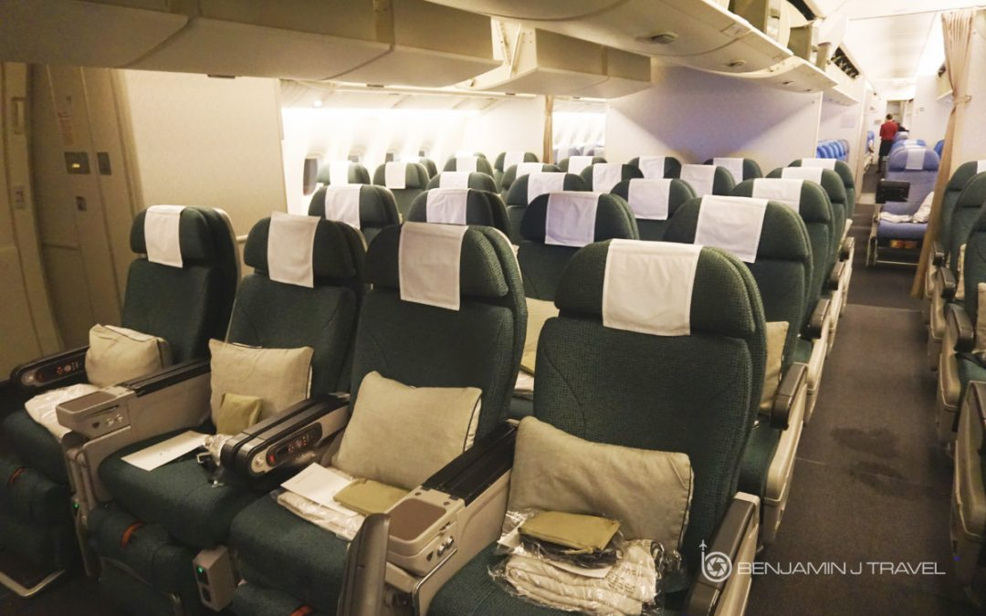 cathay pacific new business class interior classes Trip Report: Cathay Pacific 777-300ER Premium Economy | Los Angeles to Hong  Kong