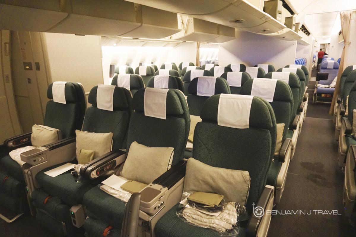 Trip Report Cathay Pacific 777 300er Premium Economy