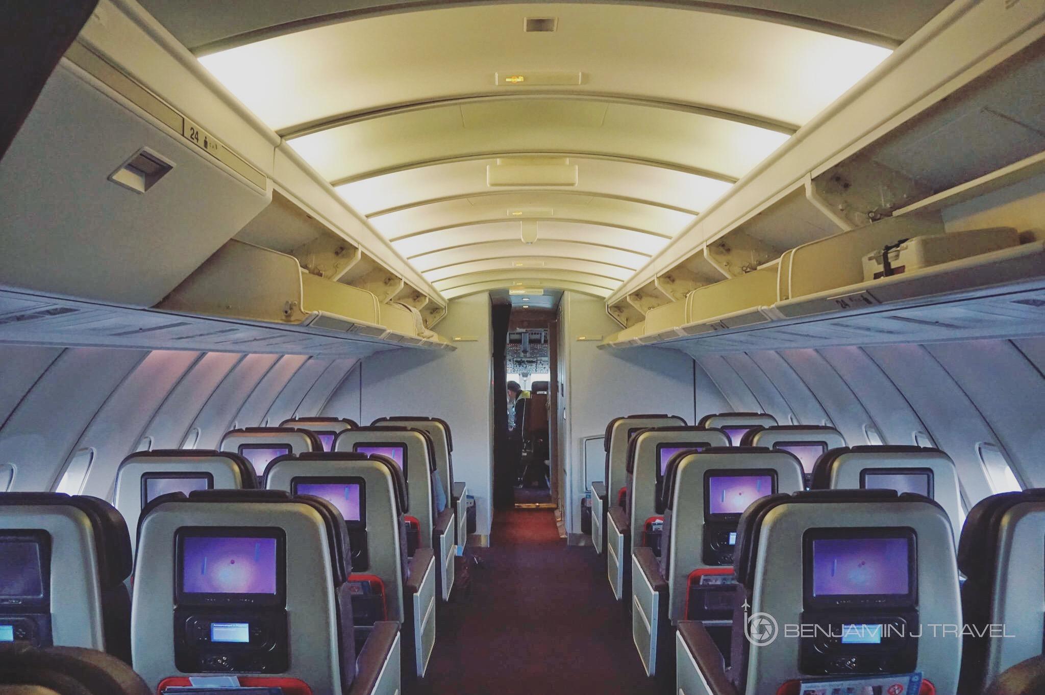 Trip Report Virgin Atlantic 747 Premium Economy London