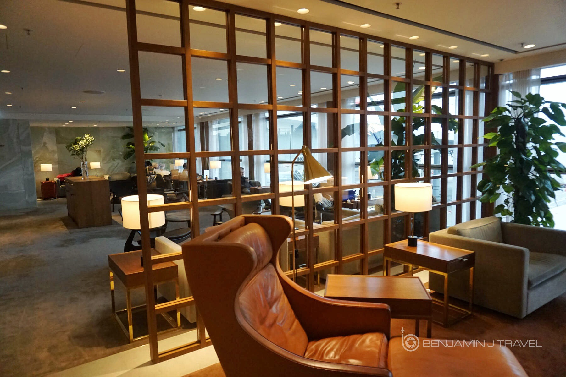 Lounge Review Cathay Pacific The Pier First Class