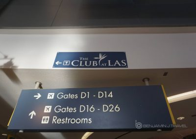 Lounge Review: The Club at LAS | Las Vegas | Terminal 1