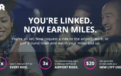 New! Earn up to 3 Delta SkyMiles per Dollar with Lyft