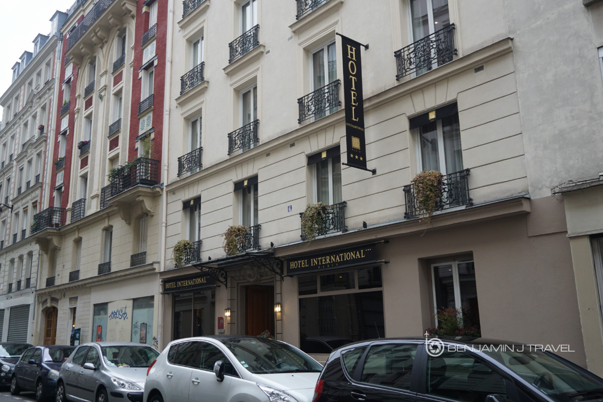 hotel review hotel international paris 11th arrondissement