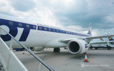 Trip Report: LOT Polish Business Class | E195 | Brussels to Warsaw