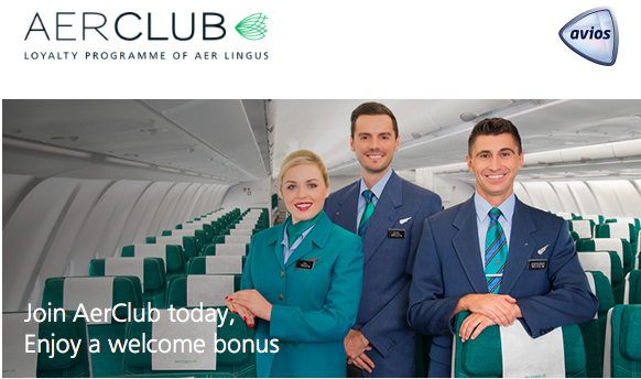 Join Aer Club, Aer Lingus' New Loyalty Program, and Earn 250 Bonus Avios