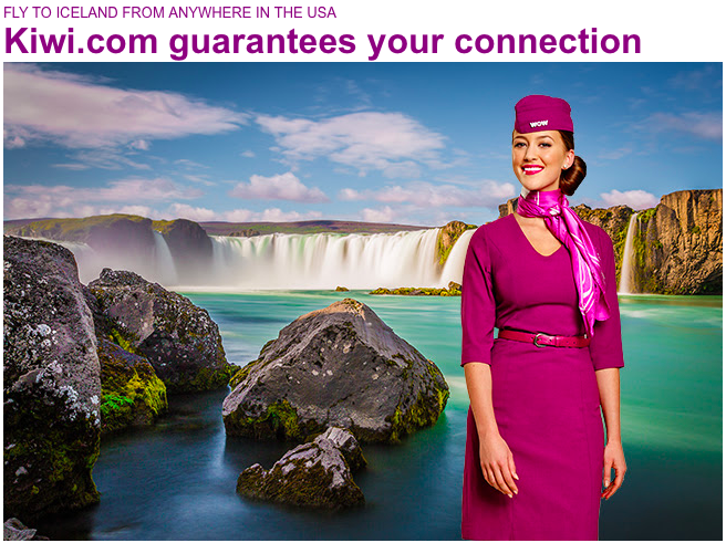 Book Your WOW Air Flight with the Kiwi.com Guarantee
