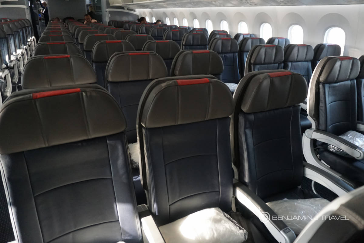 Trip Report American Airlines 787 9 Economy Class