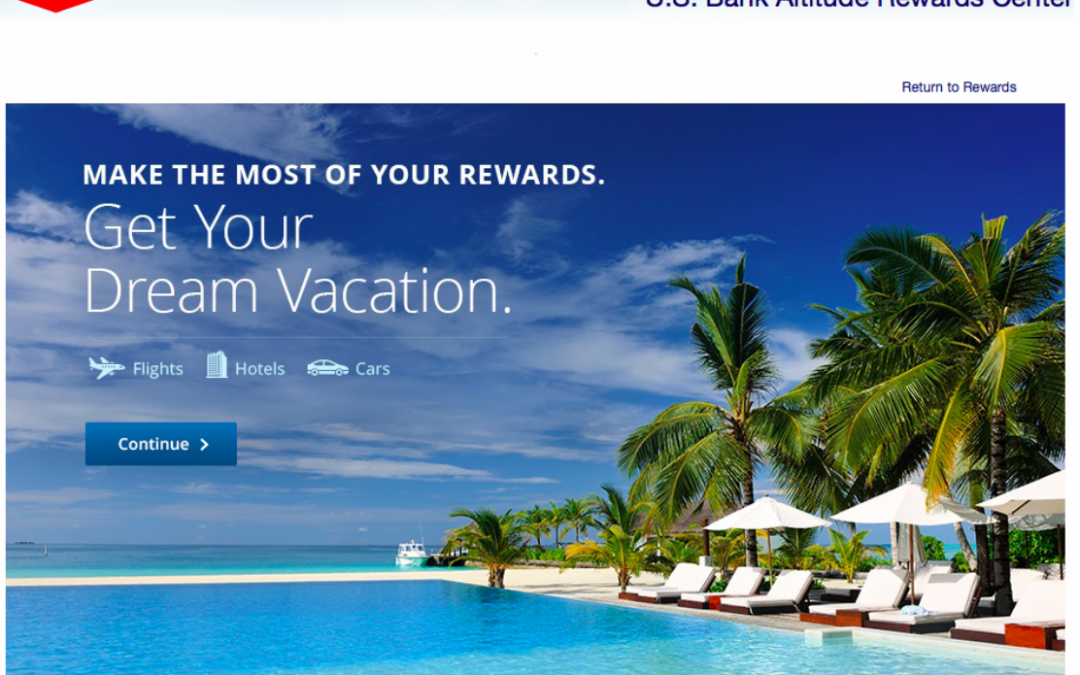 My First Experience Booking a Flight via US Bank Altitude Rewards