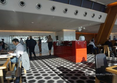 Lounge Review: Qantas First Class Lounge Sydney Restaurant Dining Blog Review Airline