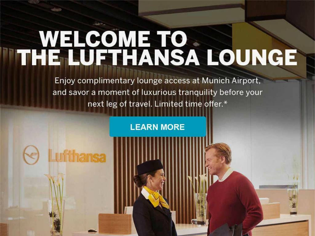 American Express Platinum Members Can Now Enjoy Lufthansa