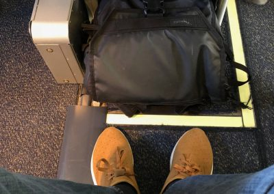 Trip Report: Alaska Airlines 737-800 Economy Class | San Diego to Honolulu Blog Review Legroom Airline Food