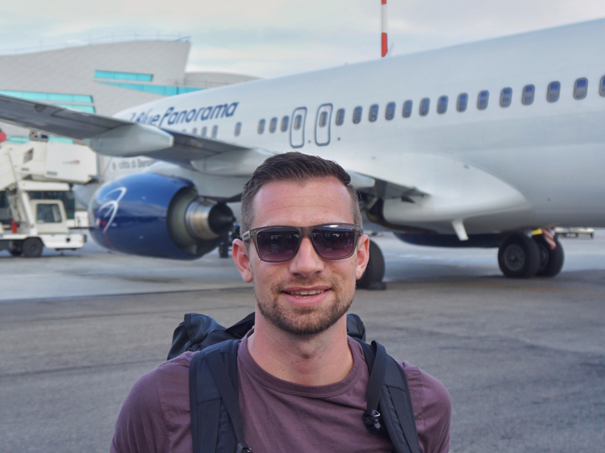 Benjamin J Travel Best Carry-On Essentials  Packing Guide Blog Review Rome FCO Tarmac