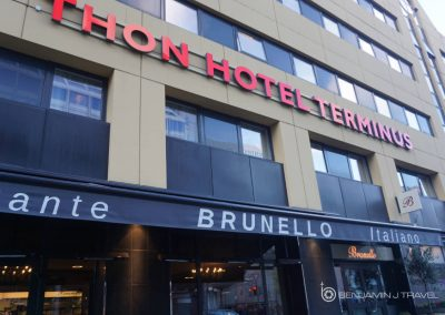 Hotel Review: Thon Hotel Terminus | Oslo - Oslo S Central Train Station Hotel - Blog Review