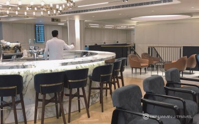 Lounge Review: The Qantas London Lounge